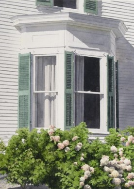 Bay Window - size 20in x 14in - price $2100