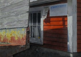 Farm Shadows - size 14in x 20in - price $2500