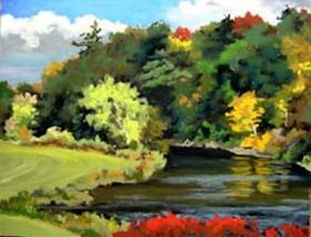 Ammonusac View - pastel