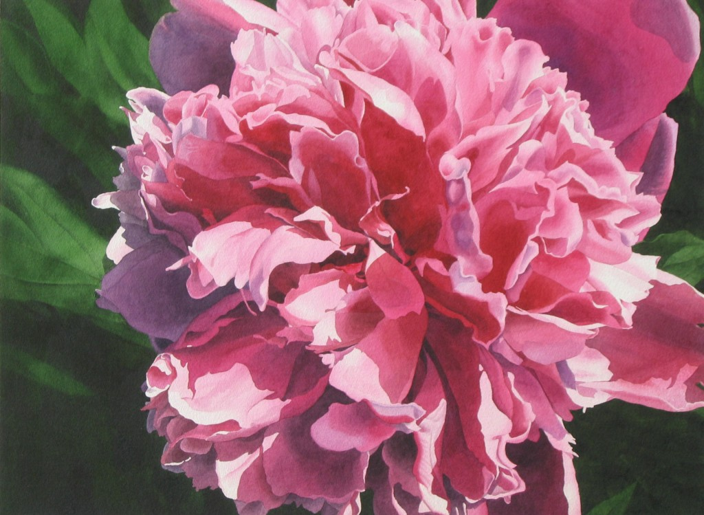 Red Peony No. 2 -  sold