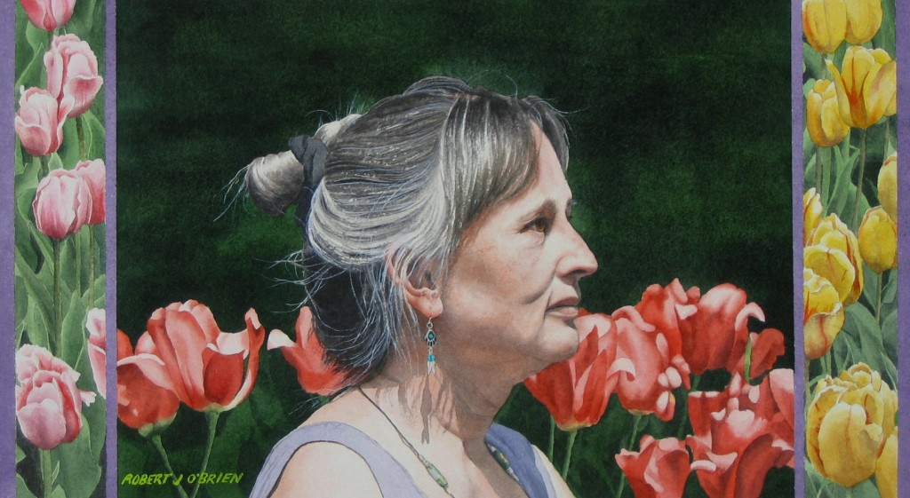 Sharon Amongst the Tulips