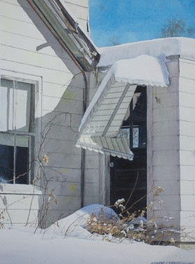 """Brokedown Palace"" - size 22in x 16in (image) - price $2700"