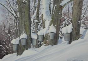 Hillside Buckets - size - 16 x 22in (image)