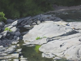 Cavendish Gorge - size 15in x 22in