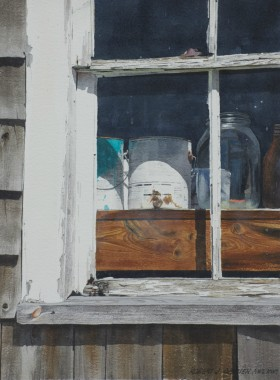 South Window, Nearing workshop - size 17in x 13in (image)